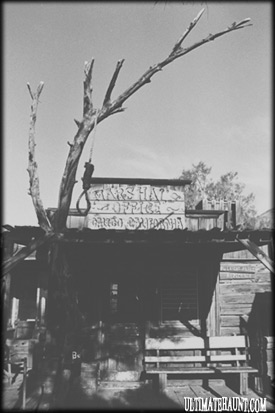 "Calico Ghost Town's ""Marshal's Office"""